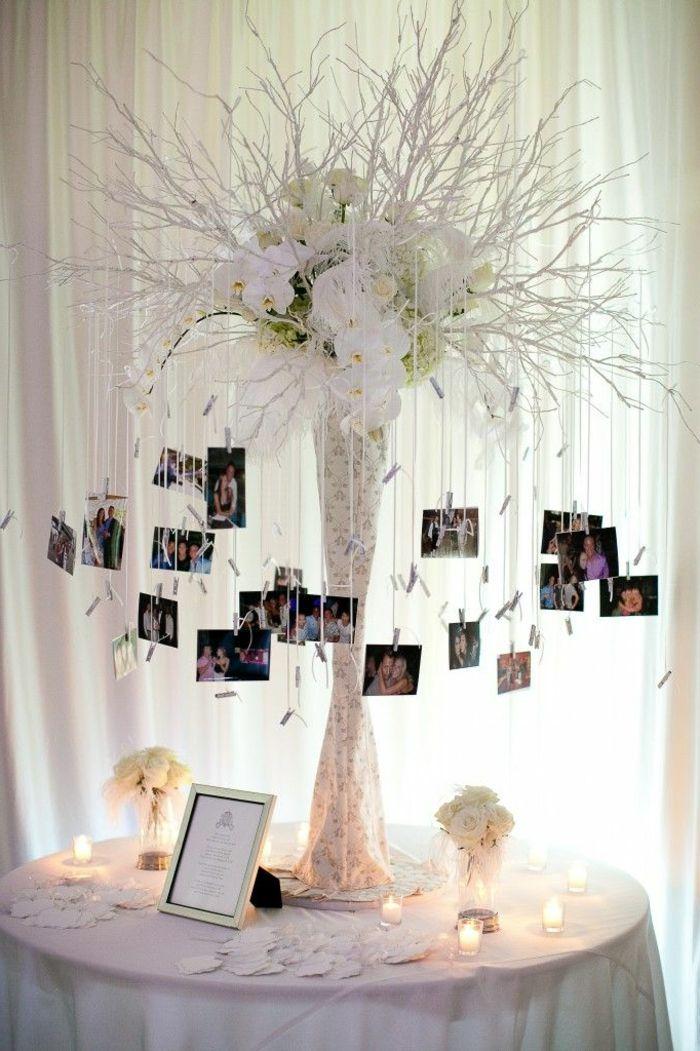 marcos de fotos originales, idea original para decorar la mesa de ...