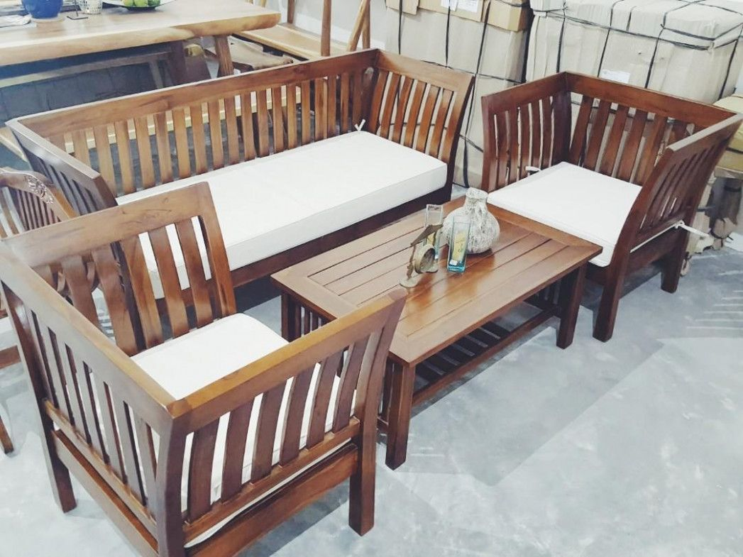 Wooden Sofa Set Solid Teak Wood Sofa Set 9 Seater Sofa Set Teak Wood Furniture Wooden Sofa Set Wooden Sofa Wood Bedroom Sets