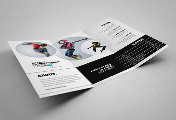 Creative Studio Brochure Design Inspiration   Simple Yet