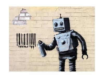 Robot Giclee Print by Banksy at AllPosters.com