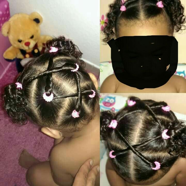 Biracial Hair In 2019 Toddler Curly Hair Mixed Girl