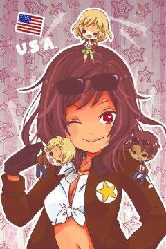 Yuri One-shots - 2P! Female! America [Hetalia] x Country
