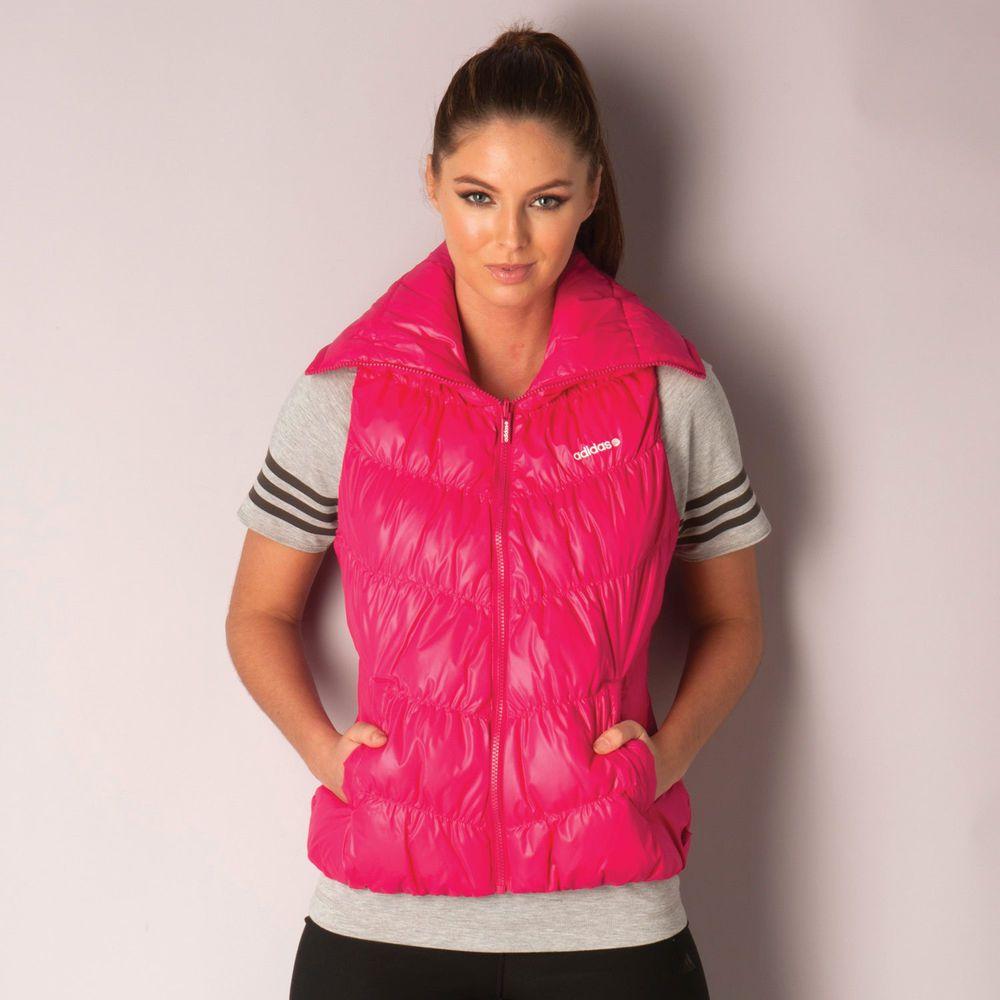 adidas Damen Jacke weste Winterjacke Pink Fitness Sport Freizeit Gr. M 9ae7cb7672