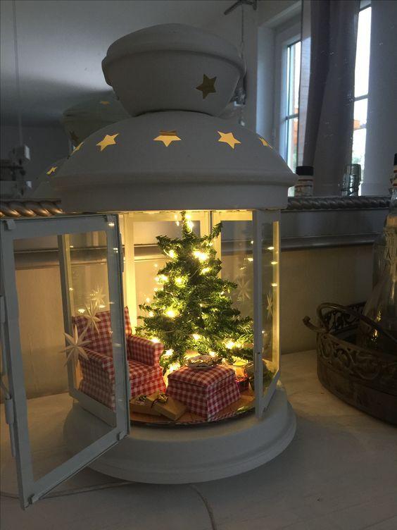 15 Coole Möglichkeiten Um Stil Eine Laterne Für Weihnachten #roomideas