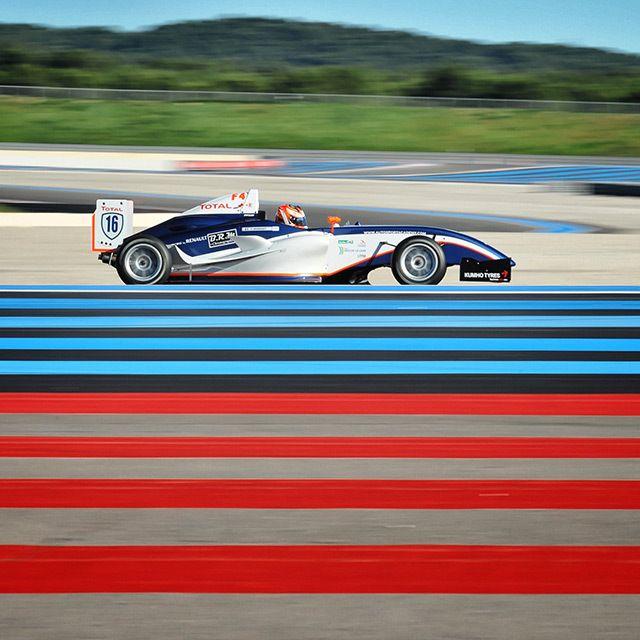 Championnat de France F4, Le Castellet Le reportage sur