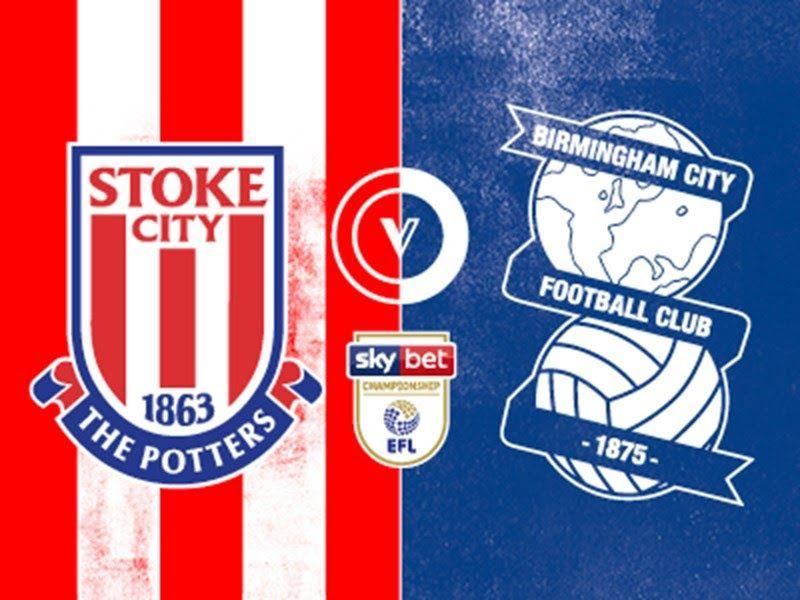 Birmingham City Vs Stoke City Sky Bet Championship 3 00pm Wednesday 26th December St Andrews Birmingham City City Sky City