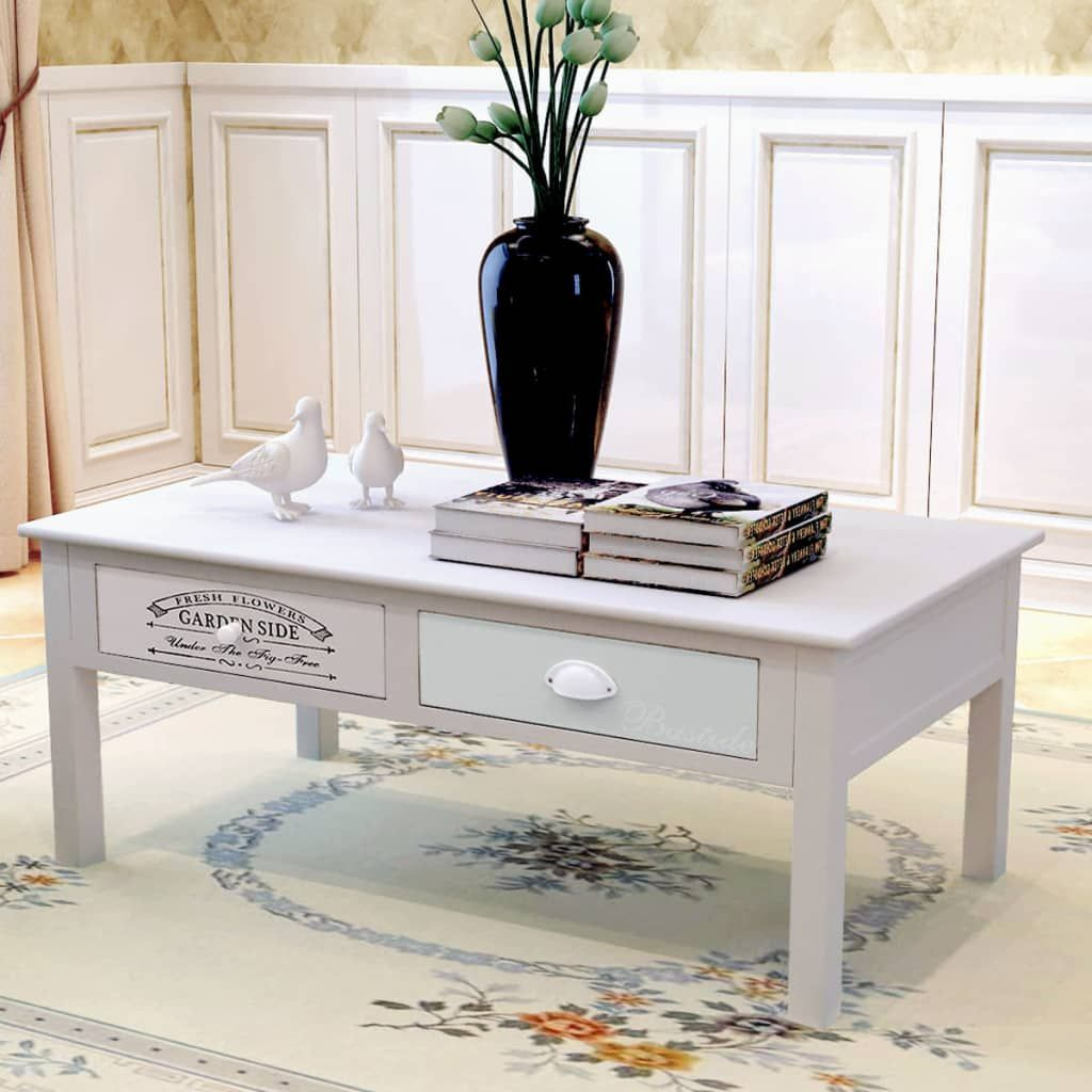 French Coffee Table Wood