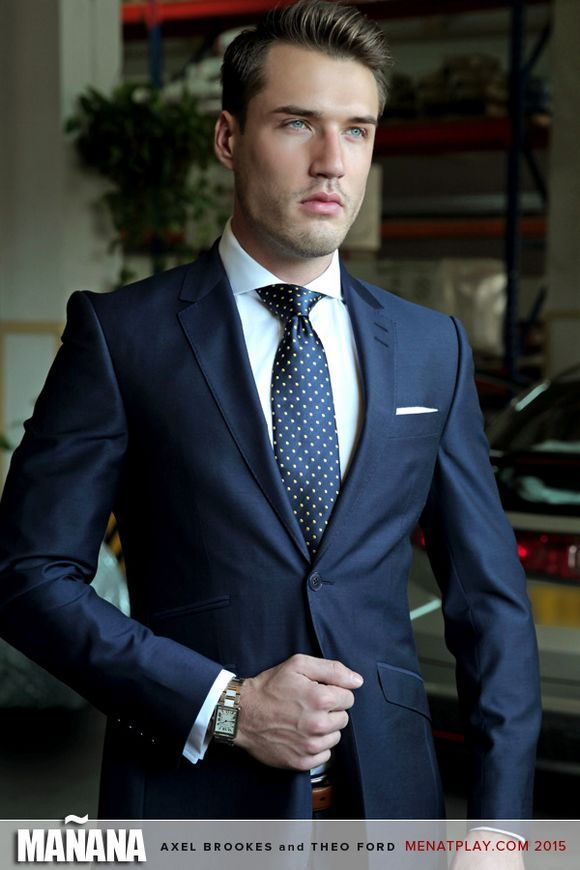 Theo Ford In Manana  Shirt  Tie  Two Piece Suits -3310
