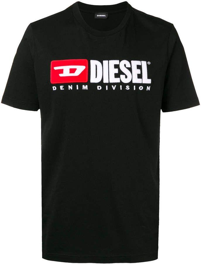 272e94c41d45 Diesel logo T-shirt Diesel Shirts