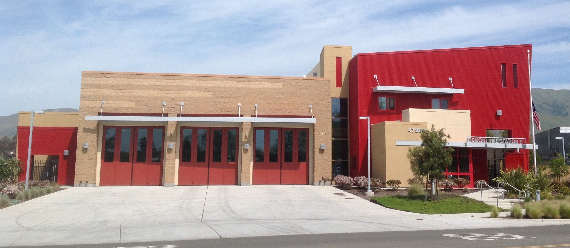 Fremont City Station 11. Fremont, CA. This is a new station that has not been occupied as of April 1, 2015.