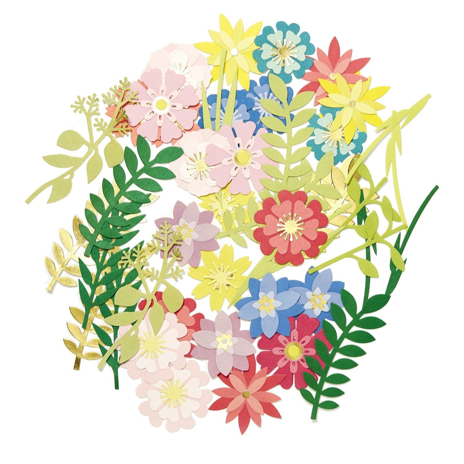 paper blooms flower kit (2017) | embellishments / sentiments