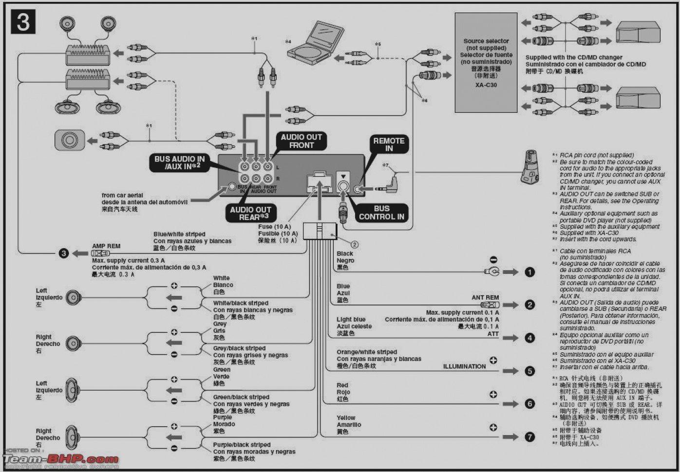 Wiring Diagram For Sony Xplod 52wx4