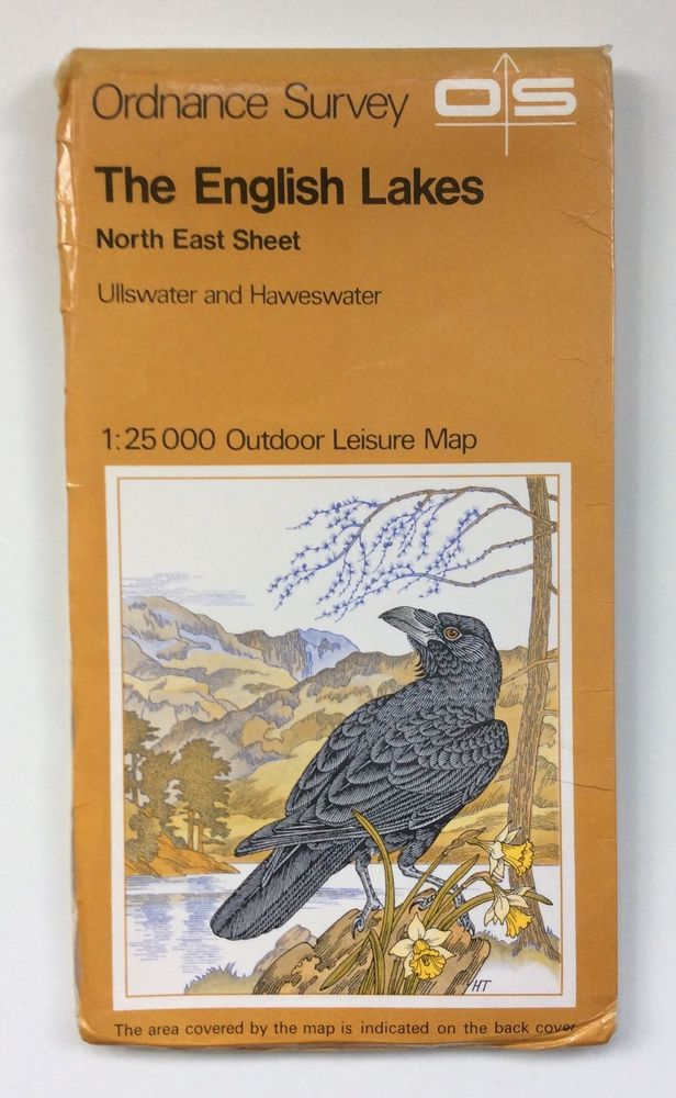 This old map is from the Ordnance Survey 1:25 000 Outdoor Leisure Series and is of The English Lakes North East Sheet. The map is dated 1979. The map is in good condition for its age. The cover has some slight creasing to the front cover. | eBay!