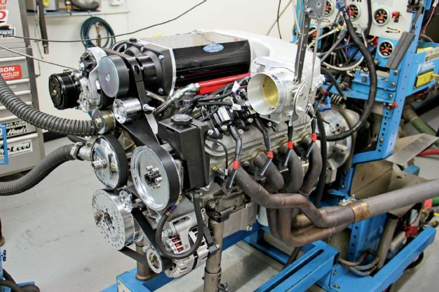 We supercharged our LS3 crate engine with Kenne Bellu0027s 28L - fresh blueprint engines 383 stroker crate motor