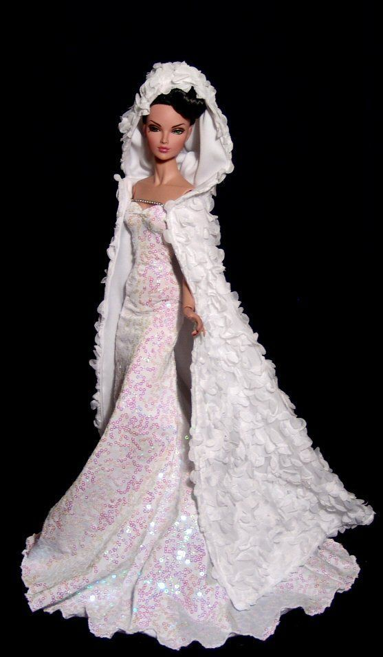 Fashions for Kingdom Doll Poppy Parker FR16 Snow Queen by Dao   eBay
