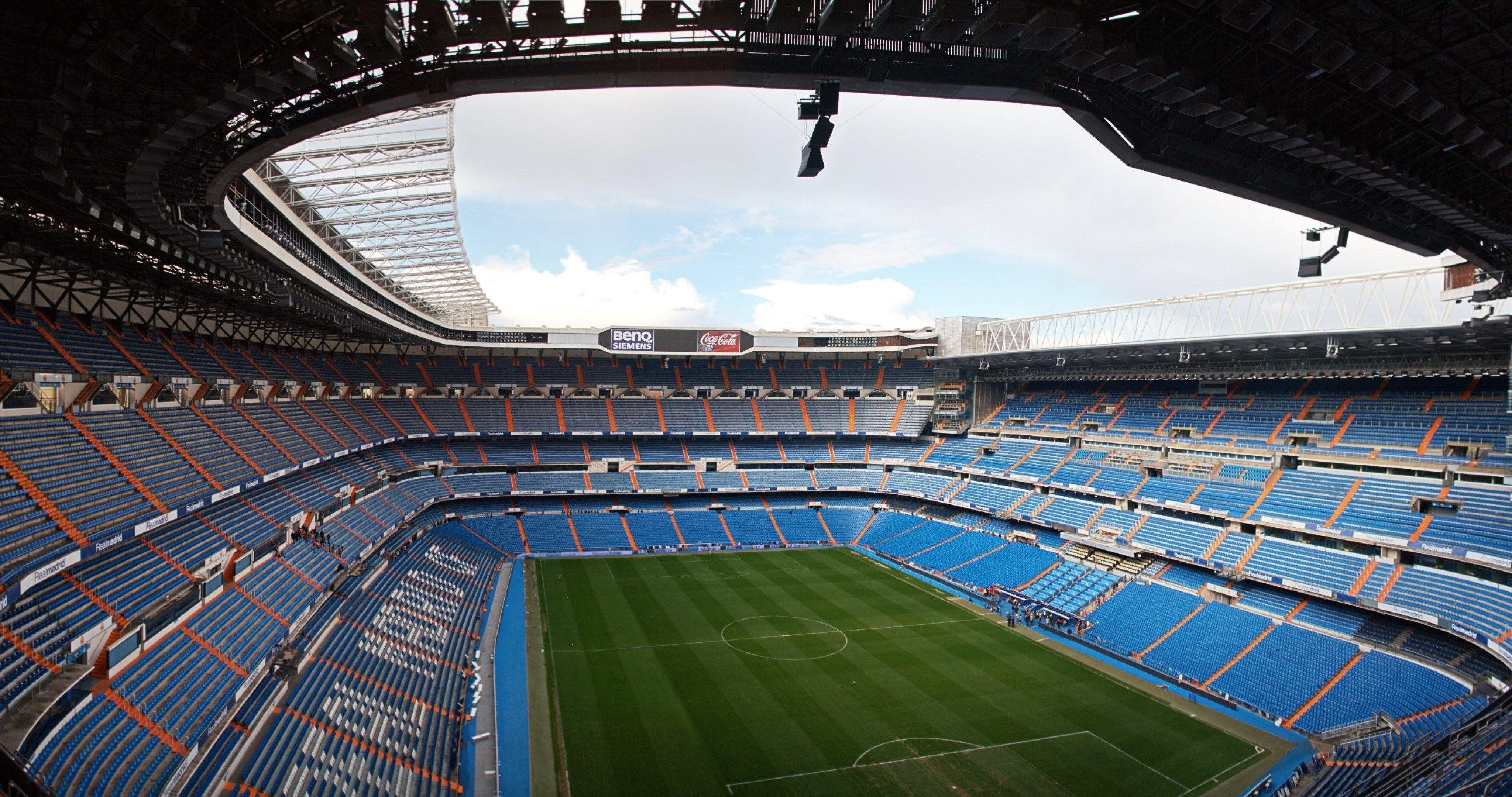 santiago bernabeu real madrid stadion 4k ultra hd