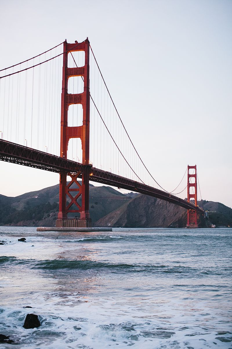 Golden Gate Bridge, SF //  Simone Anne