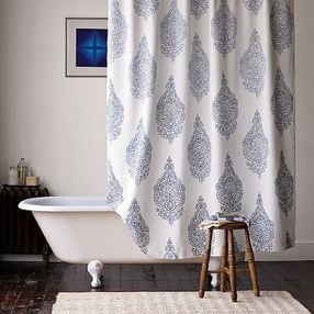 Medallion Curtain - West Elm