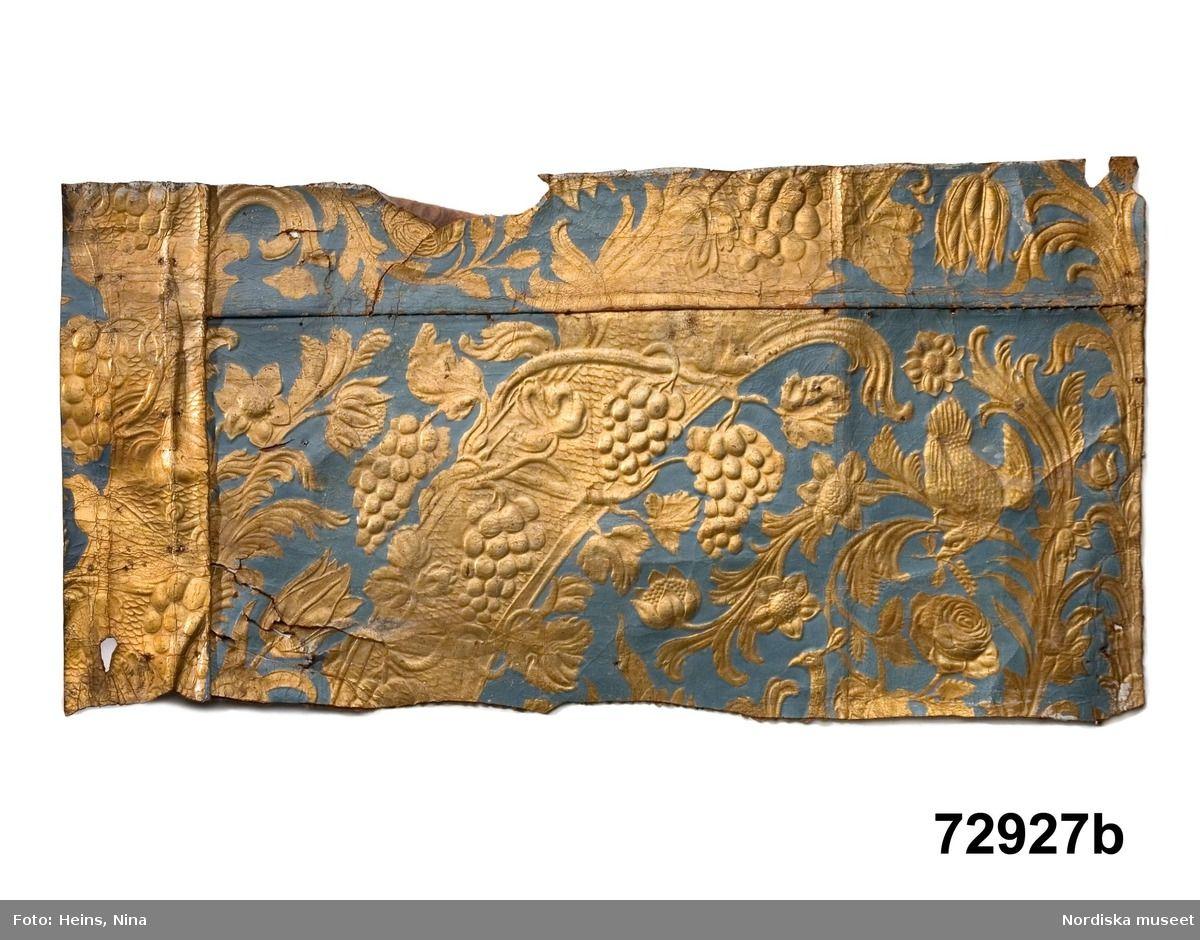Inredning måla på gammal tapet : DigitaltMuseum - Gyllenläder | vanhoja tapetteja, gamla tapeter ...