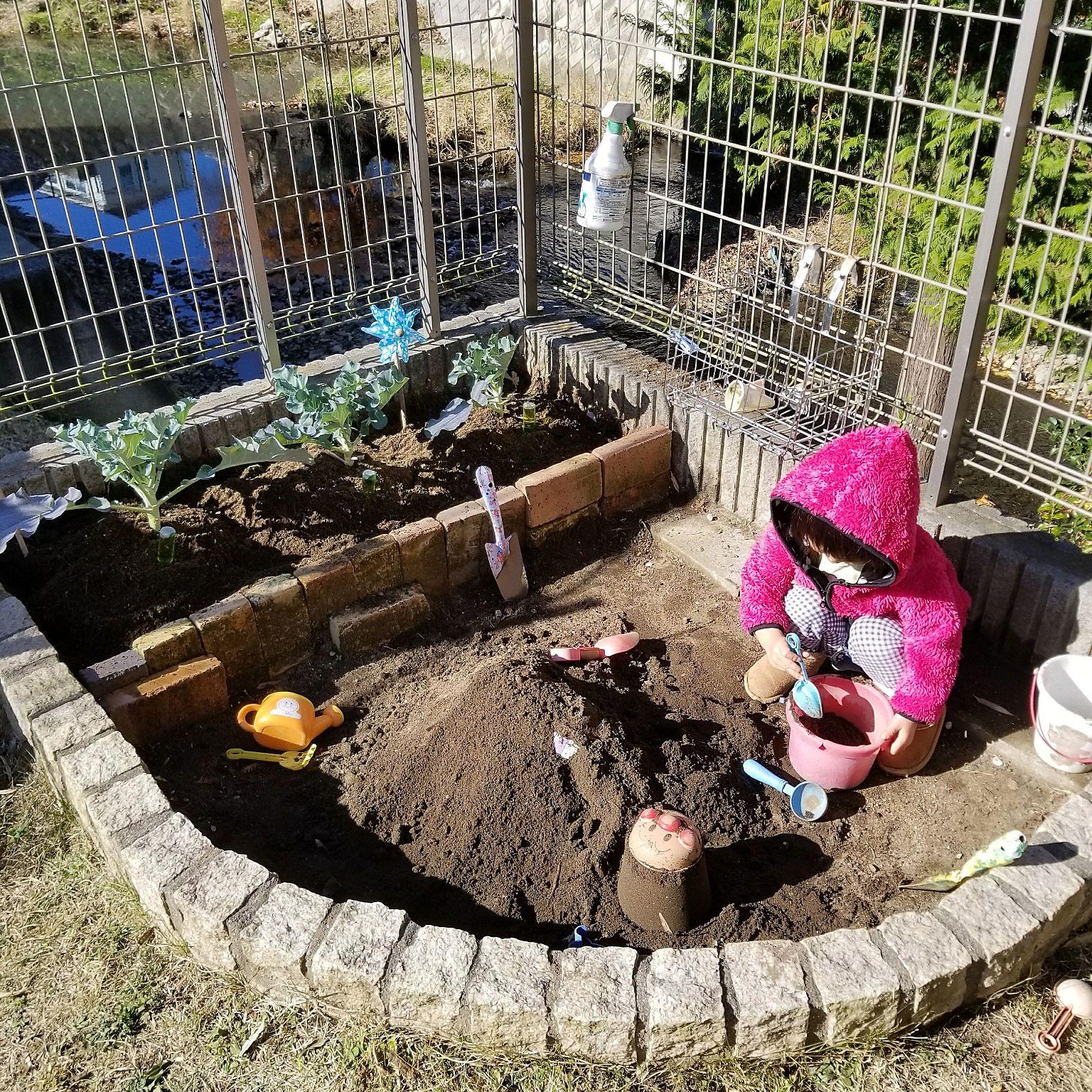 玄関 入り口 家庭菜園 おうち砂場 砂場diy 玄関のインテリア実例