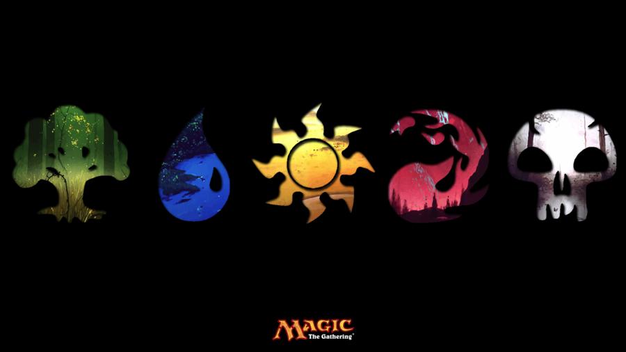 Magic The Gathering Mana Wallpaper By Amphetamine Ashleydeviantart On DeviantART
