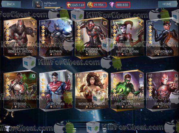 injustice 2 unlimited gems apk
