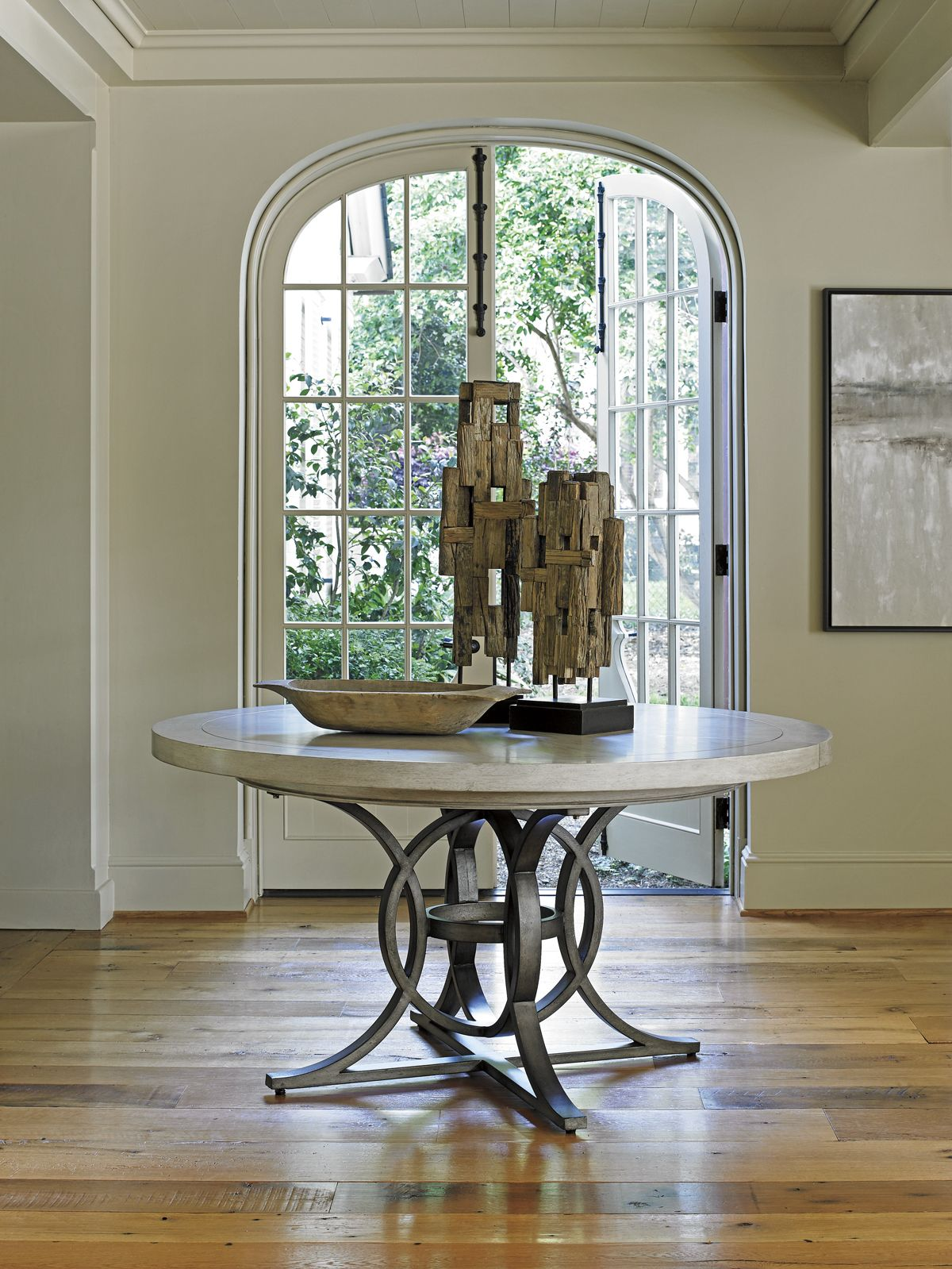 Oyster Bay Calerton Round Dining Table Round Foyer Table Entryway Round Table Round Dining Table