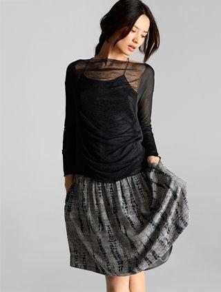 Sheer Black Sweater Eileenfisher New Loves Pinterest Eileen