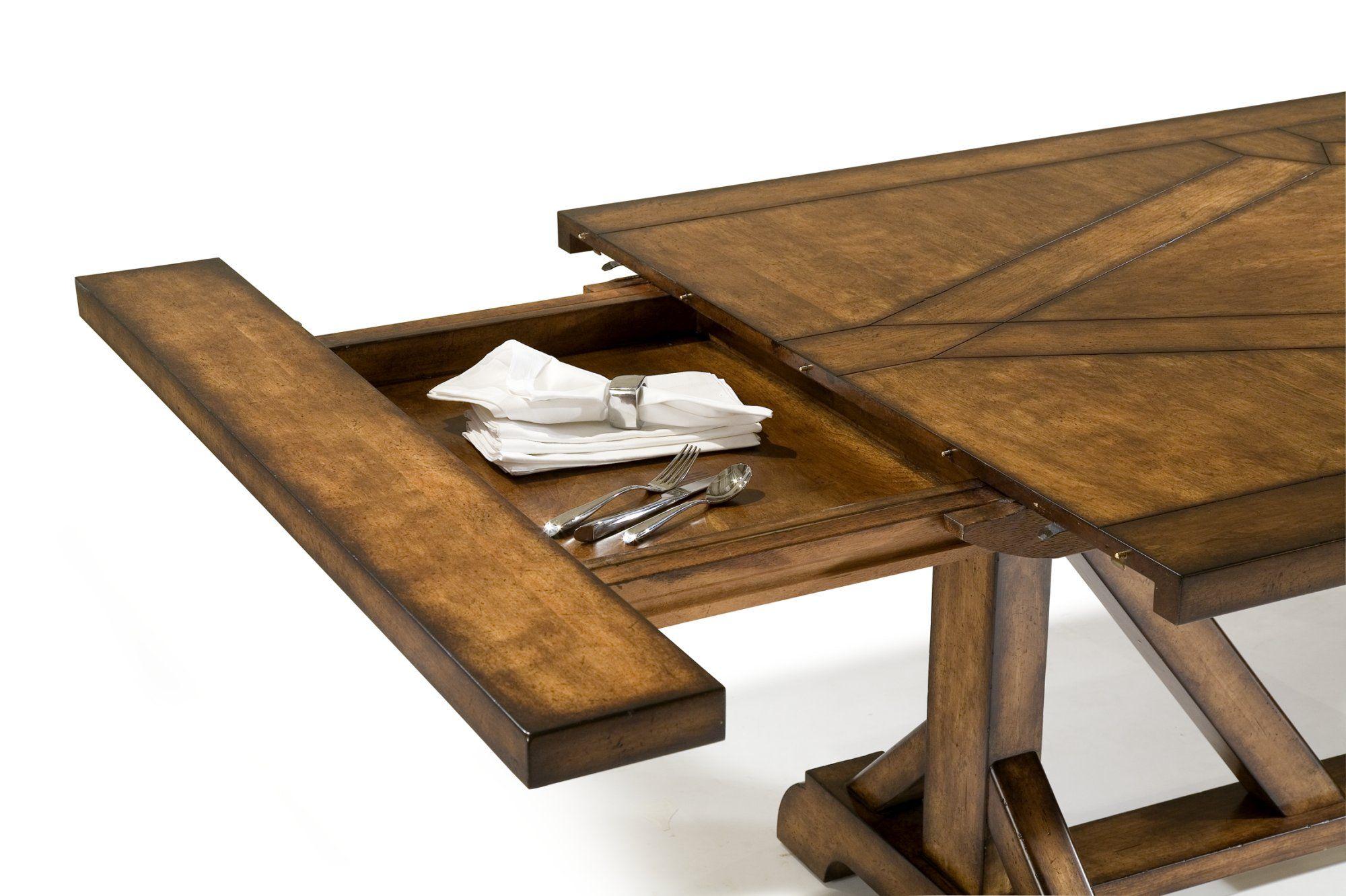 Double Barberini Trestle Table