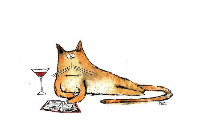Martini and a Good Book