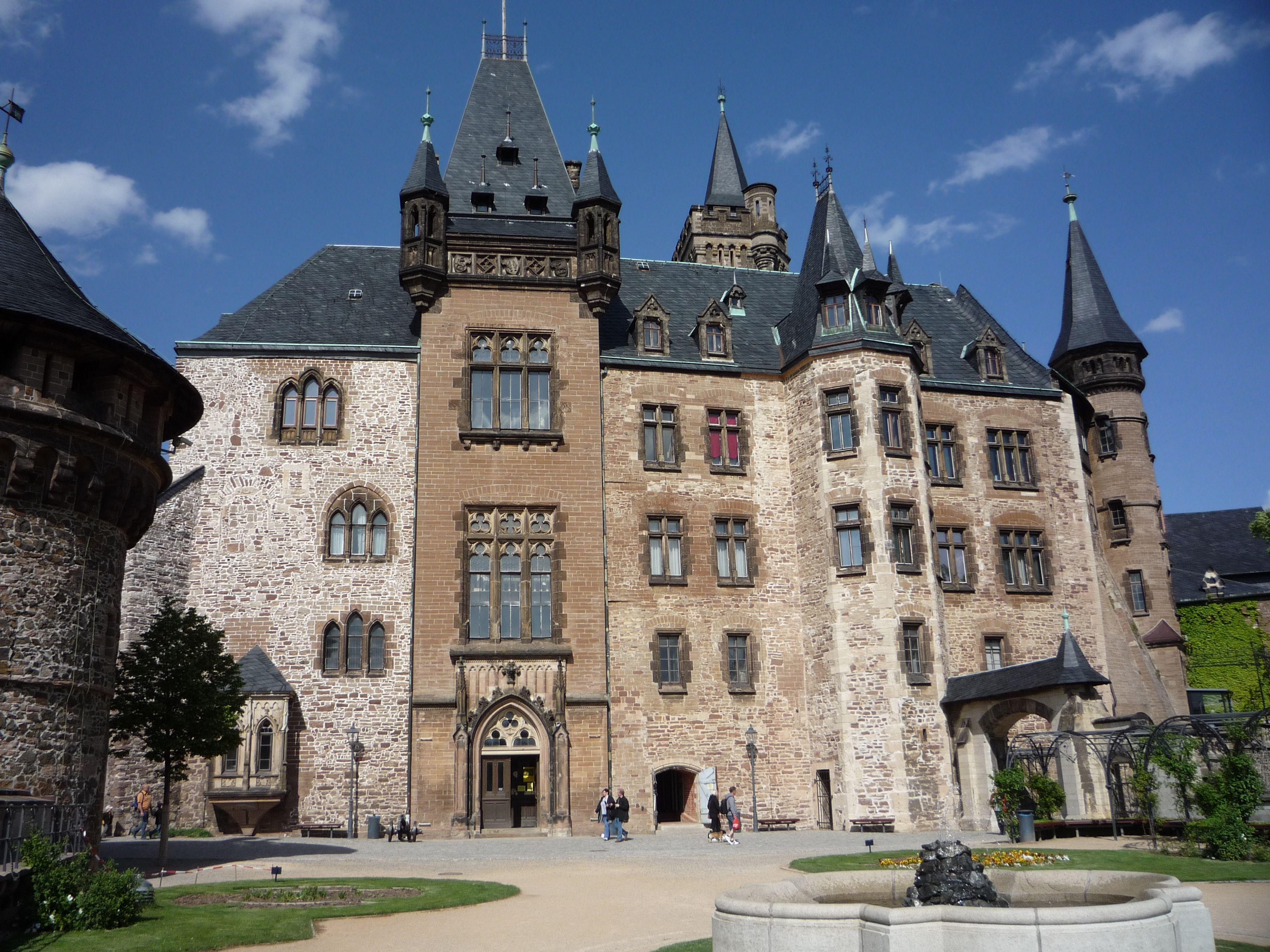 Wernigerode Castle Kastelen Duitsland
