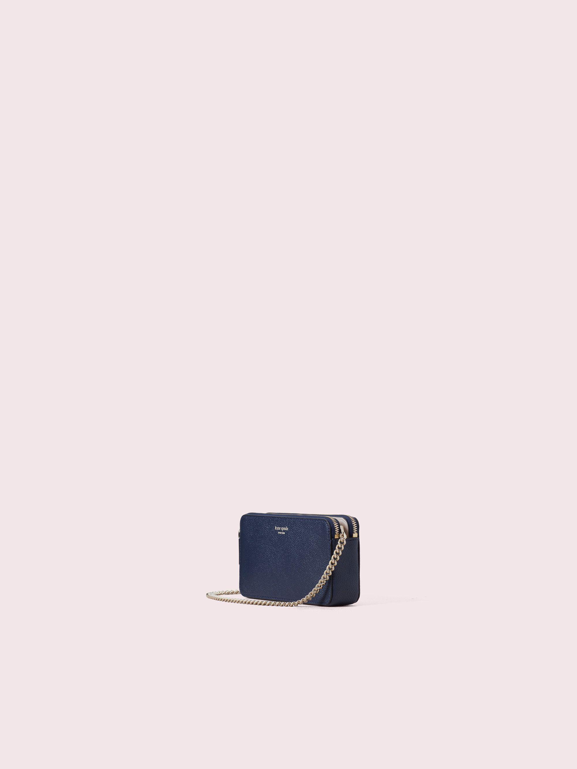 6bde53d2e Kate Spade Margaux Double-zip Mini Crossbody, Blazer Blue in 2019 ...