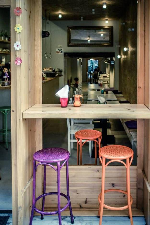 En la cafetería y restaurante Idea en Poblenou encontrarás todo lo necesario para pasar una mañana o una tarde entretenida con tus peques. Descubre Barcelona con niños gracias a #MiraMamiSummer www.miramamiblog.wordpress.com