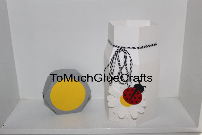 Bug Jar treat box by ToMuchGlueCrafts on Etsy