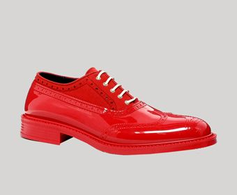 vivienne westwood red brogue shoes  1b4bea79358a