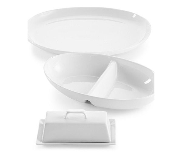 The Cellar Whiteware Serveware Accessories Created For Macy S Reviews Serveware Dining Macy S Coisas