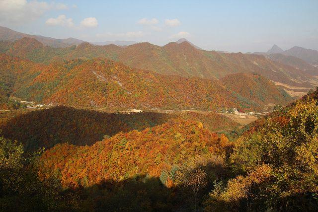 En Route To Pyongyang From Wonsan North Korea North Korea Pyongyang Natural Landmarks
