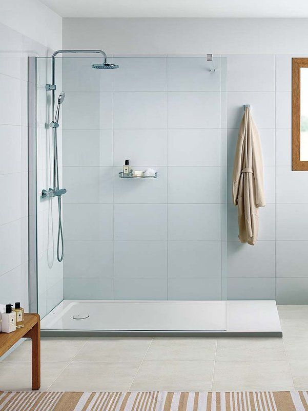 Platos de ducha para el ba o bathroom ba o basement - Banos con plato ducha ...