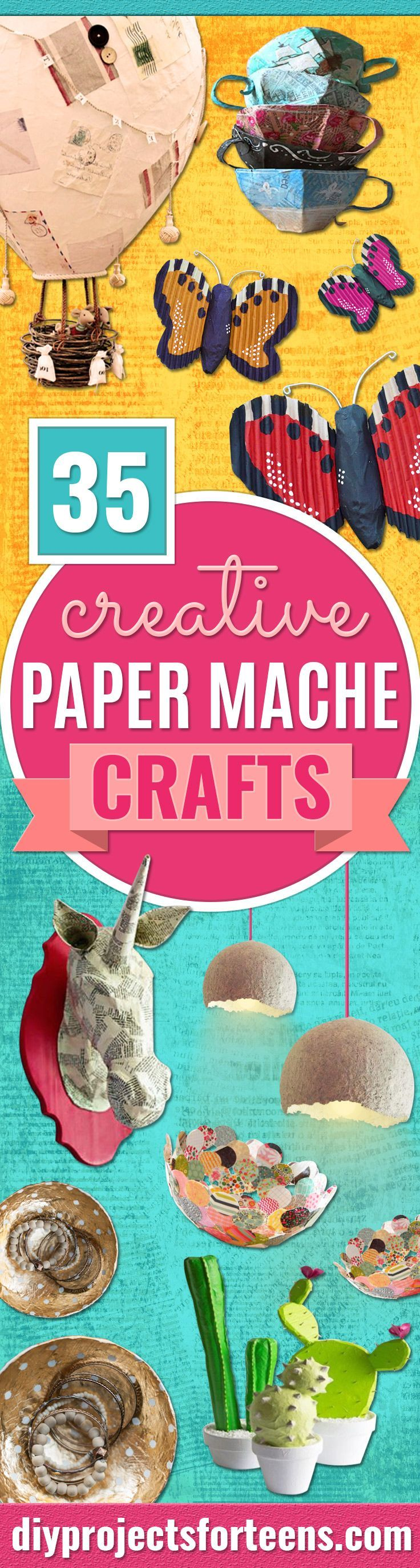 Creative Paper Mache Crafts  Easy Diy Ideas For Making