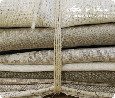 Linen Fabrics By Ada Ina Www Linenfabrics Co Uk Linen Curtains