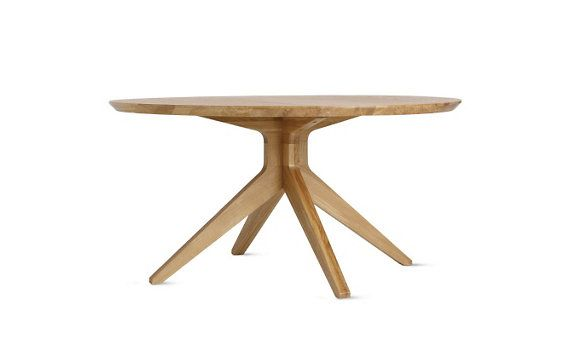 Dwr Cross Round Table 59 Diameter With Images Dining Table