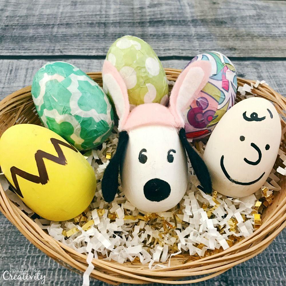 Peanuts Easter Eggs Large