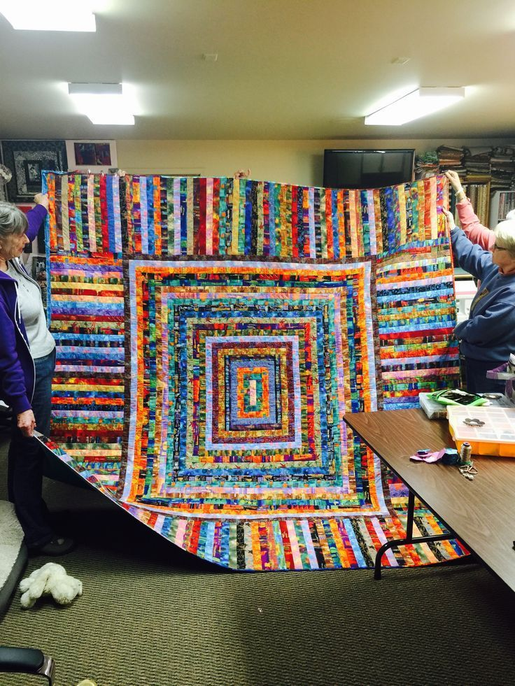 Photo of Shirlee's quilt for Kathy.  Shirlee's quilt for Kathy.