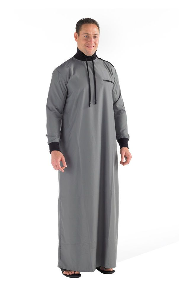 006c157eb3f6 High neck Jubba Thobe  mens islamic clothing  Eastessence  Thobe
