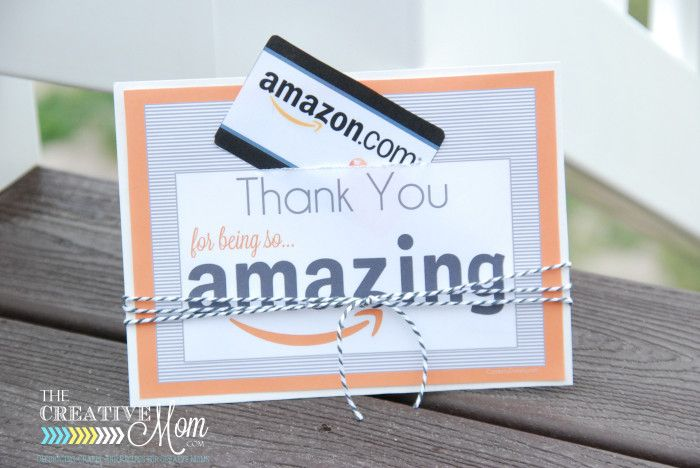 Amazon gift card printable tag from thecreativemom diy amazon gift card printable tag solutioingenieria Gallery