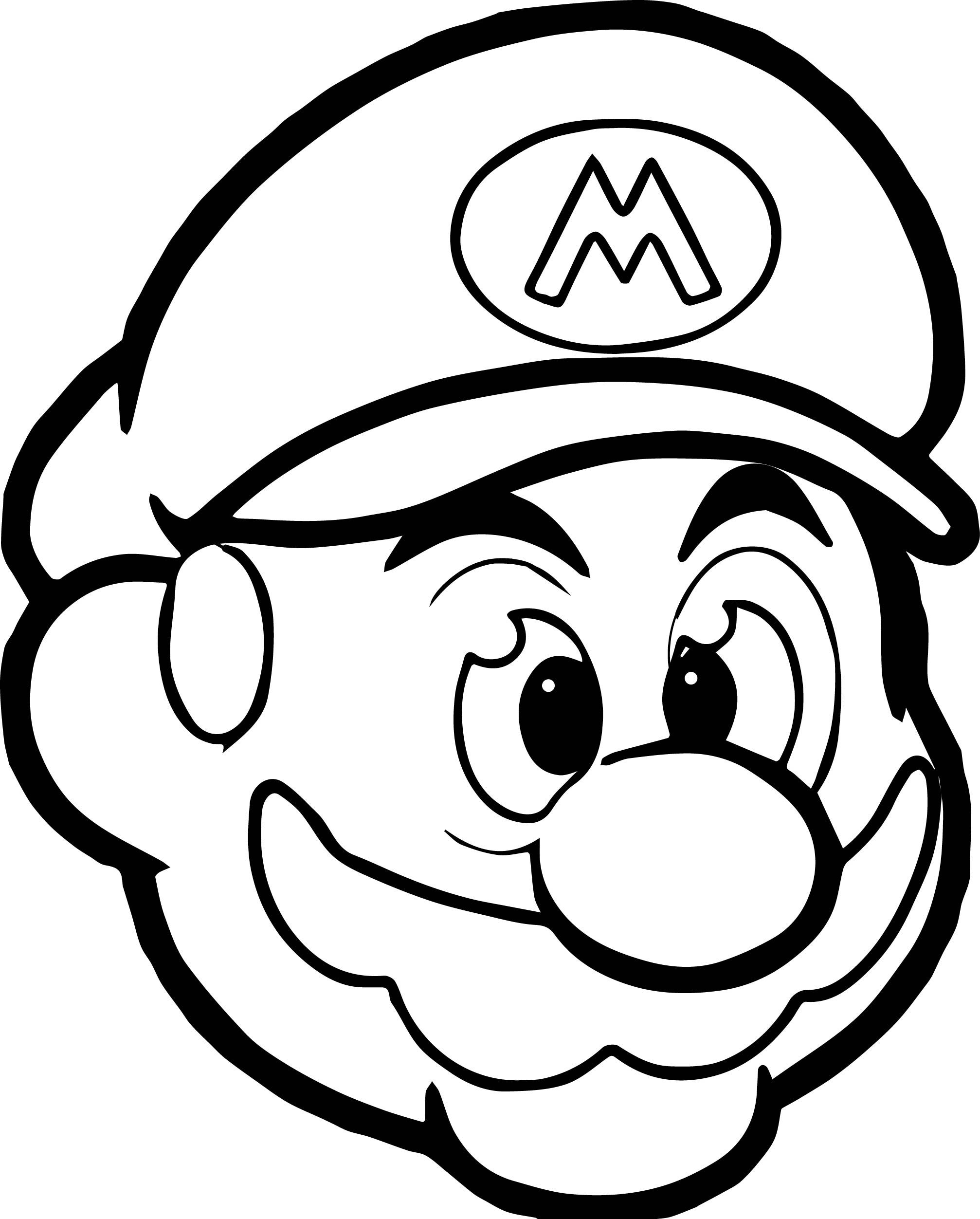Mario Coloring Pages Mario Coloring Pages Pikachu Coloring Page