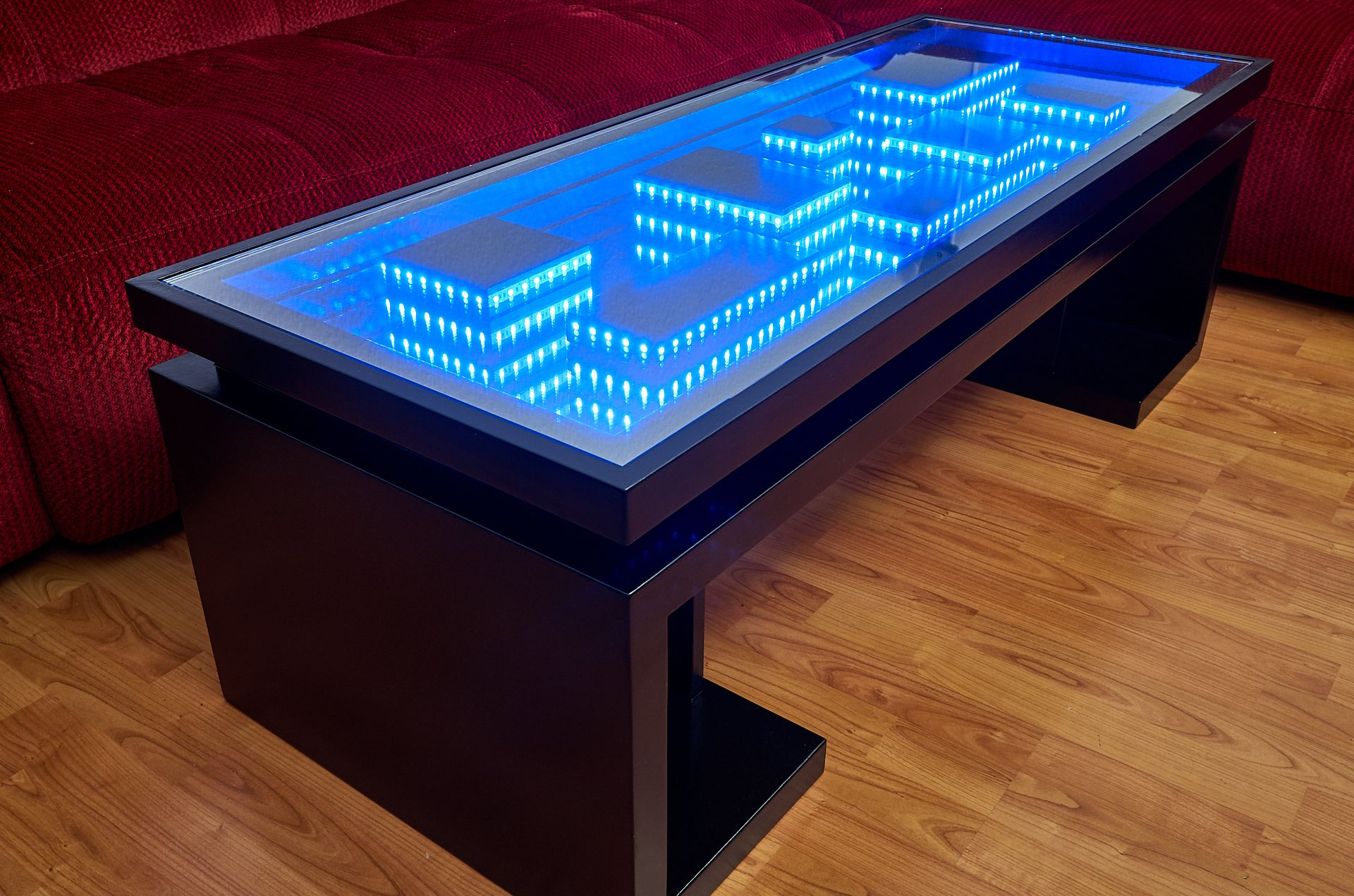 Wi Fi Infinity Mirror Table Including A Usb Charger Infinity Mirror Table Infinity Mirror Mirror Table [ 1272 x 1920 Pixel ]