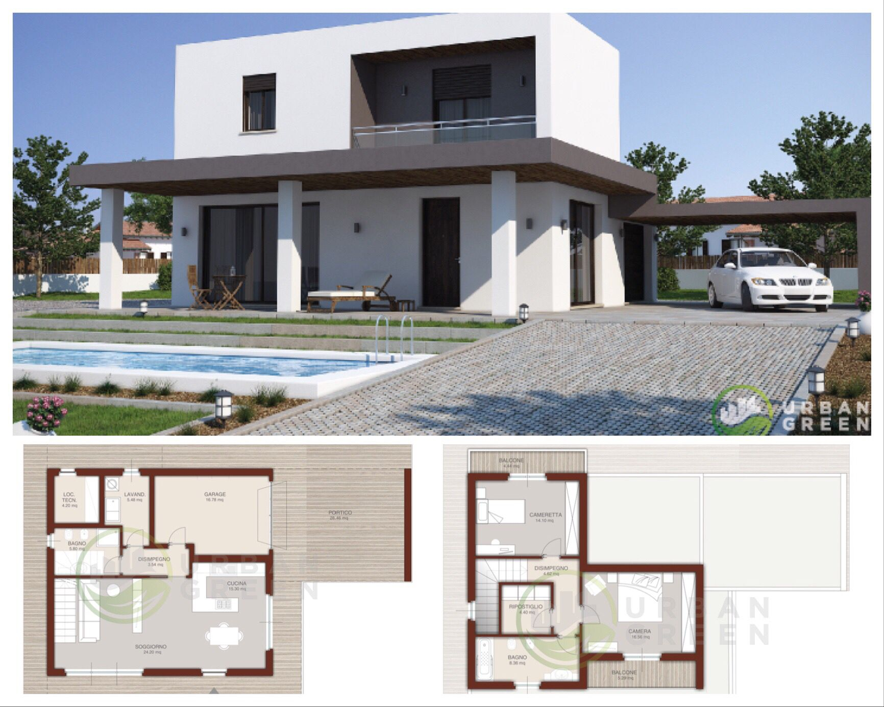 Casa In Legno Modello Urb06 Progetto Abitazione Antisismica In