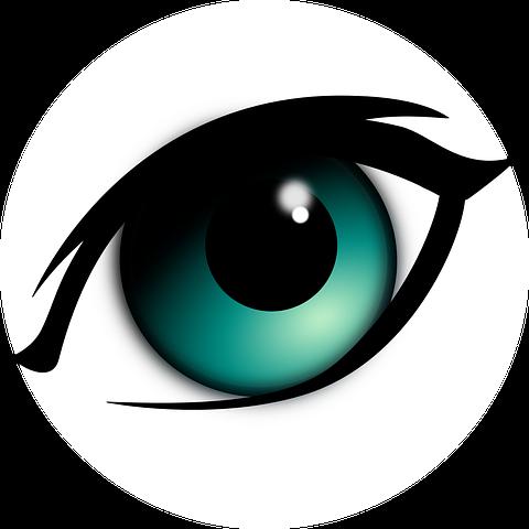 Eye Mascara Makeup Iris Black Cartoon Eyes Eye Drawing Eyes Clipart