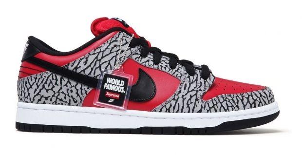 wholesale dealer df30e 24c0e Supreme x Nike sb Dunk Low